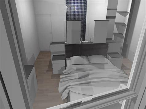 chambre avec salle de bain ouverte faire d 39 une chambre de taille moyenne une suite avec wc