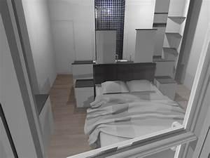 50 best images about suite parentale on pinterest the With chambre parentale avec salle de bain