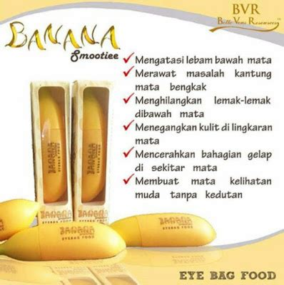 Tips Jaga Kandungan Muda Banana Smootiee Eyebag Food Cara Menghilangkan Eyebag