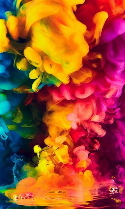4k Smoke Colorful Wallpapers Iphone 1280 1080