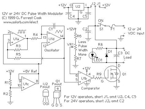 Subaru R2 Wiring Diagram by Pwm Motor Speed Controller Dc Light Dimmer