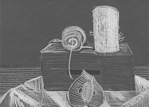 Non-Art Teacher Designs: Black and White Still-Life Drawing
