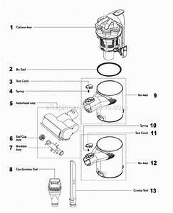 Dyson Dc34 Parts List And Diagram   Ereplacementparts Com