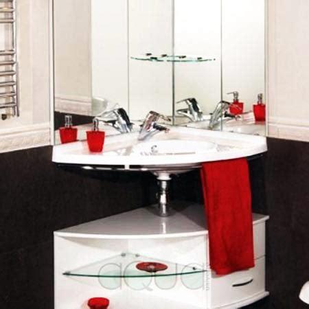 Modern Bathrooms In Small Spaces by Corner Bathroom Sinks Creating Space Saving Modern