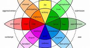 Robert Plutchik U0026 39 S Emotion Wheel Shows The Range Of
