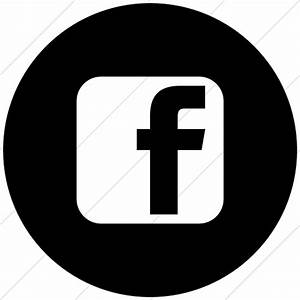 Facebook Logo Black And White Png | www.imgkid.com - The ...