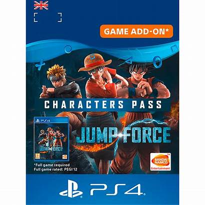 Jump Force Character Pass Digital Code Account