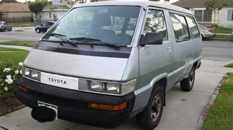 1989 Toyota Van 4x4