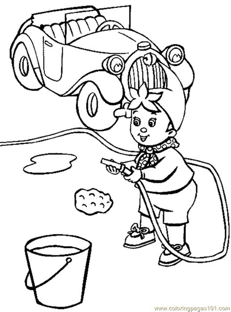 Printable Hand Washing Coloring Pages 24170