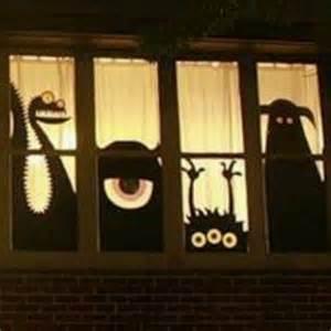 halloween window silouettes halloween pinterest