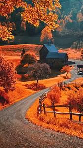 Autumn Landscape iPhone wallpapers / lock screen ...