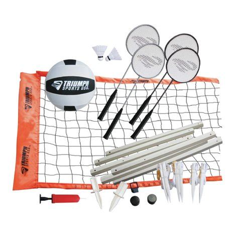 foto de Advanced Volleyball/Badminton Combo Set Walmart com