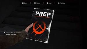 The Last Of Us Part 2 Training Manuals Guide  Where To