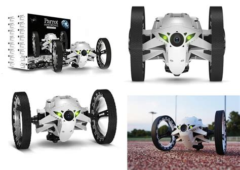 genuine parrot minidrones jumping sumo robot toy camera wifi controlled white ebay