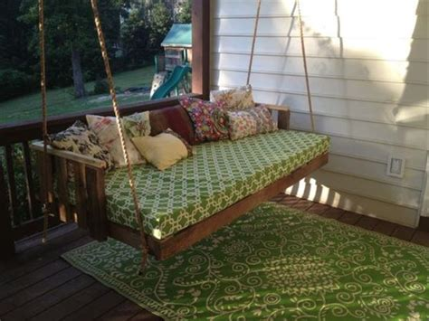 how to build a porch swing bed diy wooden pallet swing ideas pallets designs