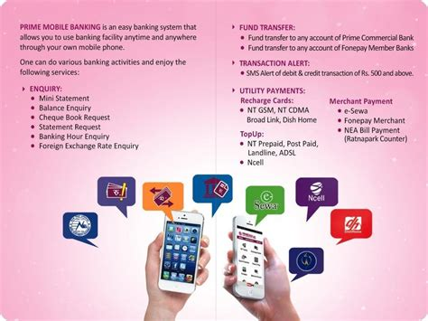 prime mobile banking prime commercial bank  nepal