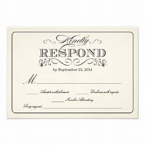 25 best ideas about wedding response cards on pinterest With wedding invitation rsvp facebook