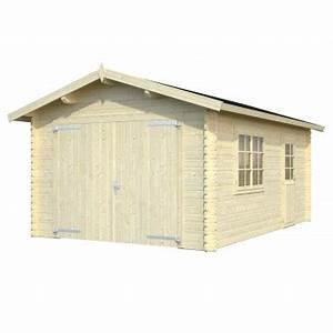 Dřevěná garáž svépomocí