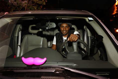 Lyft Updates Pink Mustache Branding
