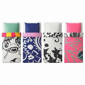 Ikea Bettwäsche 140x200 : ikea jugend bettw sche graffiti design spridd 140x200 ebay ~ Orissabook.com Haus und Dekorationen