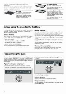 Oven Symbols Electrolux