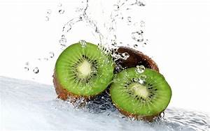 Kiwi Fruit Water HD Wallpaper - Large HD Wallpapers