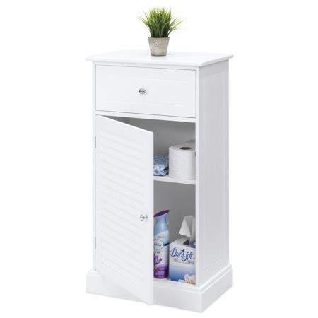 choice products bathroom floor cabinet   shelves