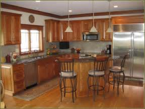 shaker kitchen ideas cherry cabinets with granite home design ideas