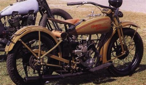 Harley Davidson Sidevalve Classic Motorcycle Pictures