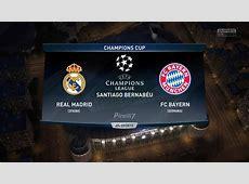 Real Madrid FC vs FC Bayern Munich Champions League 1804