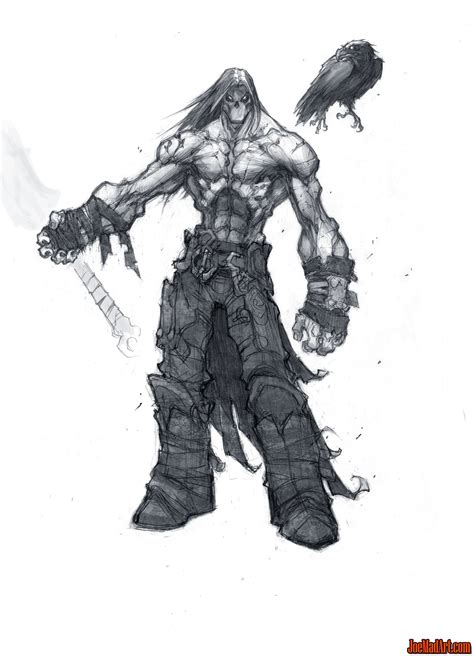 Darksiders 2 Death And Dust First Concept Art