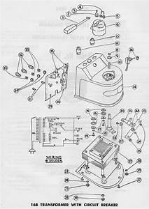 American Flyer Transformer 16b Parts List  U0026 Diagram