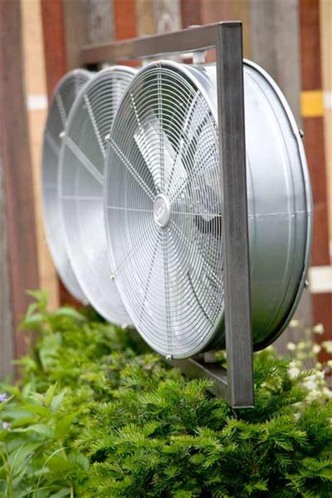 high velocity blower fan   beat  heat outdoors   house