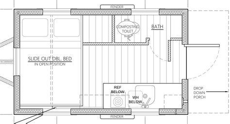 affordable tiny house design     grid