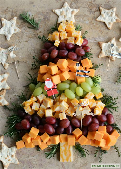 easy appetizer tree cheese board home is where the boat is