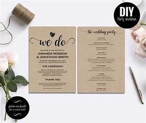free rustic wedding invitation templates wedding With diy wedding invitations programs free