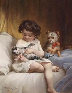Marsa39s Perser Cats In Fine Art 19th Century