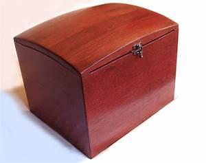 The Wish Box  Recycled Oak Wine Barrel Wedding Wish Box