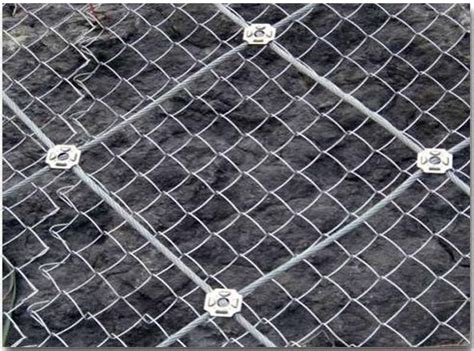 china supplier slope flexible protection netting