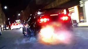 Mad Toyota Supra - Burnouts And Flames In London
