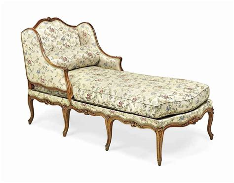 chaise louis 15 a louis xv walnut chaise longue mid 18th century