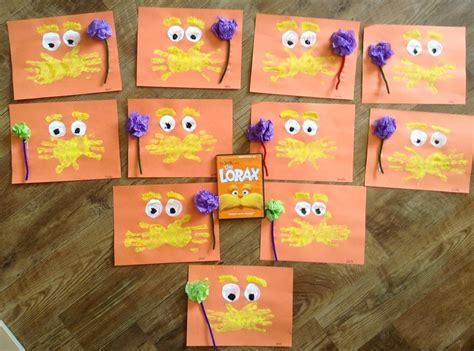 dr suess craft the lorax preschool crafts 123 | ae7fb1e9f7cfe48f3294af686ff3f47e