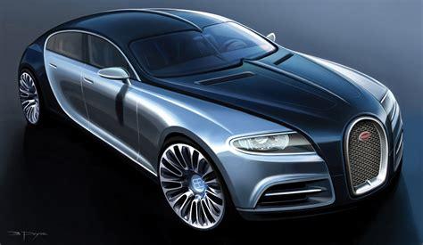 Bugatti 16c Galibier Four Door Concept Car [video]