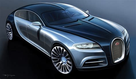 The brand that combines an artistic approach with superior technical innovations in the world of super sports cars. Bugatti 16C Galibier Four Door Concept Car video