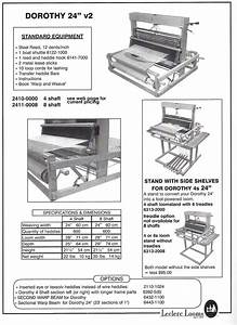 Leclerc Dorothy 24 U0026quot  Table Loom Stand 4