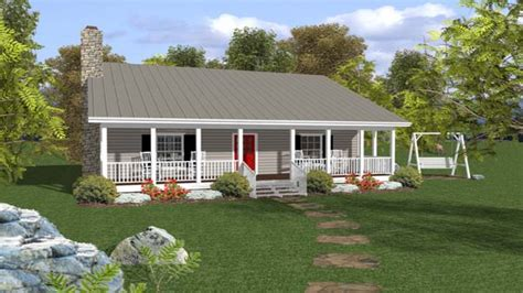 small one house plans with porches small ranch house plans with porch open ranch style house
