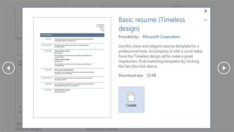 Template Untuk Resume by Cara Buat Resume Untuk Melamar Kerja Dengan Ms