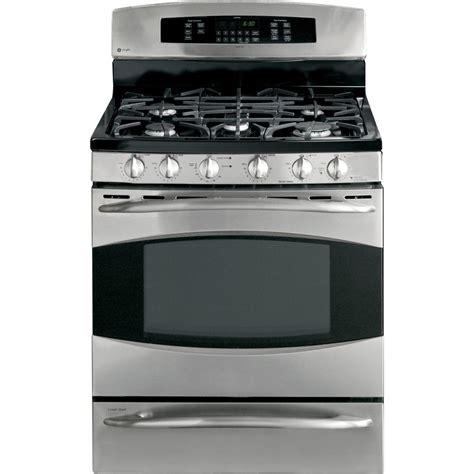 range oven ge dual fuel double oven range