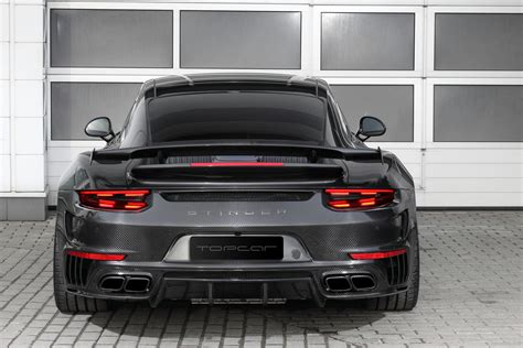 All Carbon Porsche 911 Stinger Gtr Kit From Topcar Is Jaw