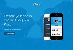 20 Best HTML Mobile App Landing Page Templates Web